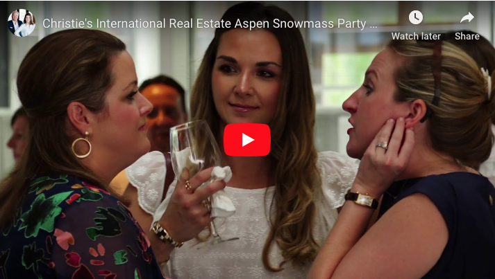 Christie's International Real Estate Aspen Launch Party